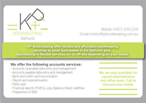 KP Bookkeeping - Cairns Accountant