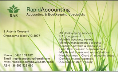 Rapid Accounting Solutions - Cairns Accountant