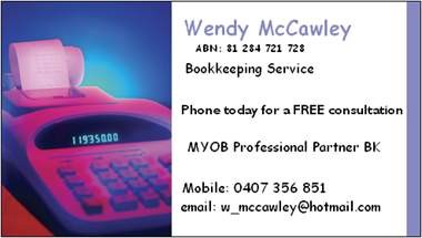 Wendy Mccawley - Cairns Accountant