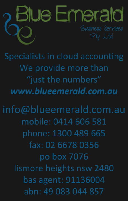 Blue Emerald - Cairns Accountant