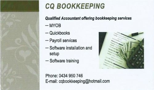 CQ Bookkeeping - Cairns Accountant